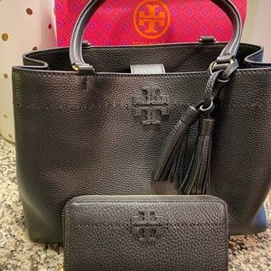 McGraw Triple Compartment Tote & Wallet